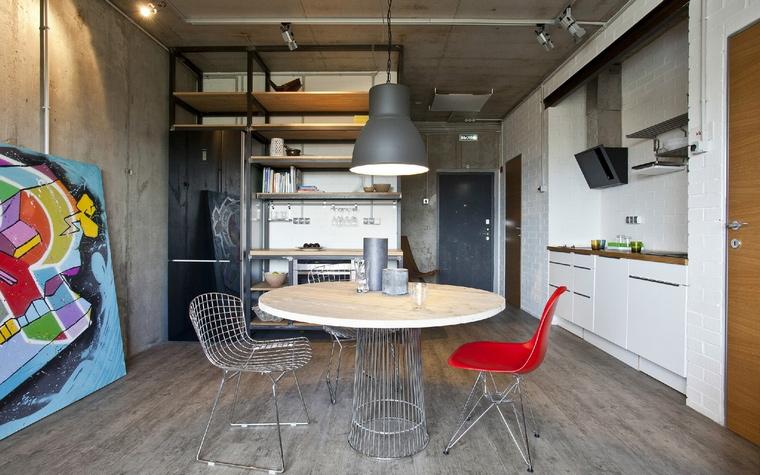 Квартира. столовая из проекта , фото №40910