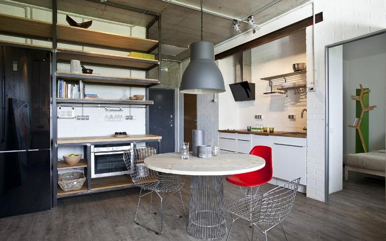Квартира. столовая из проекта , фото №40913