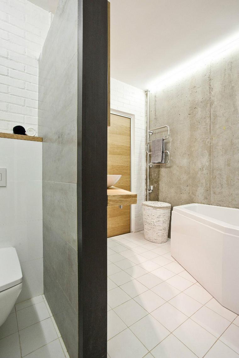Квартира. ванная из проекта , фото №40919