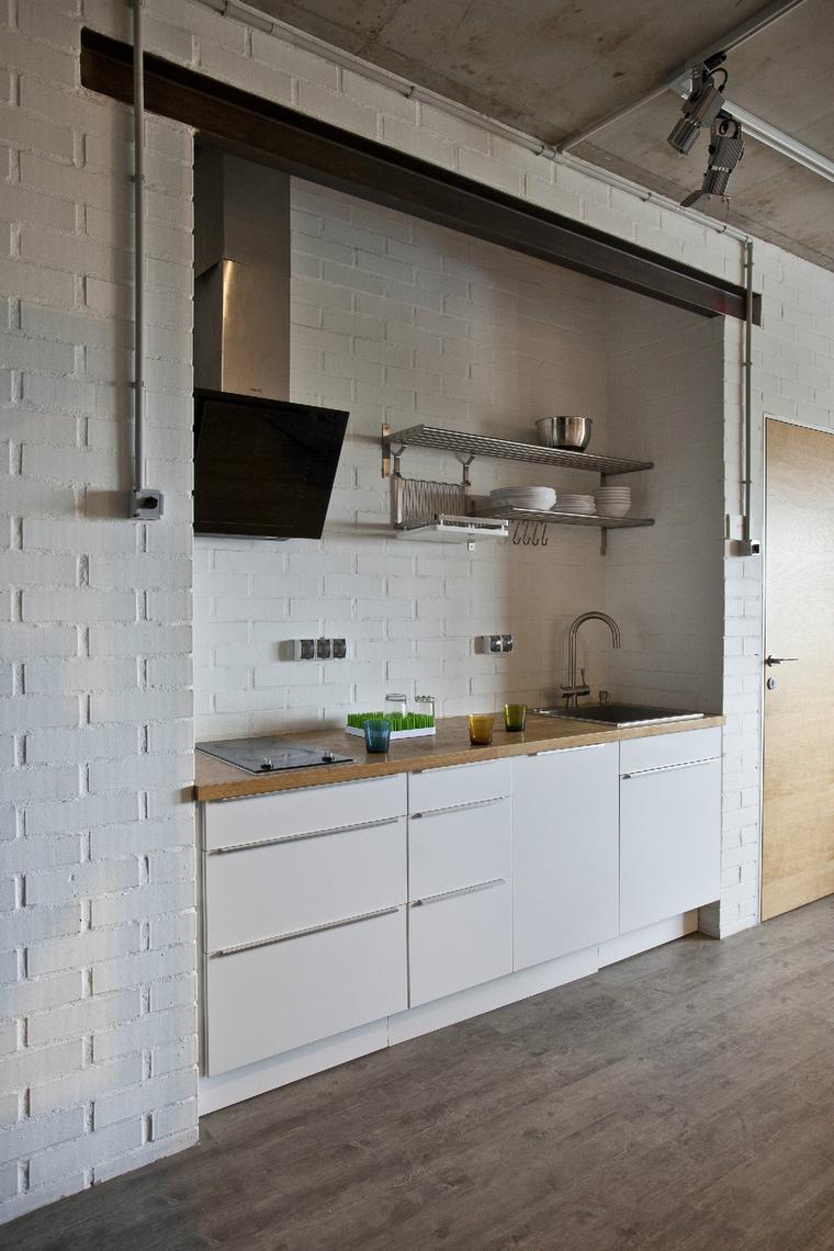 Квартира. кухня из проекта , фото №40918