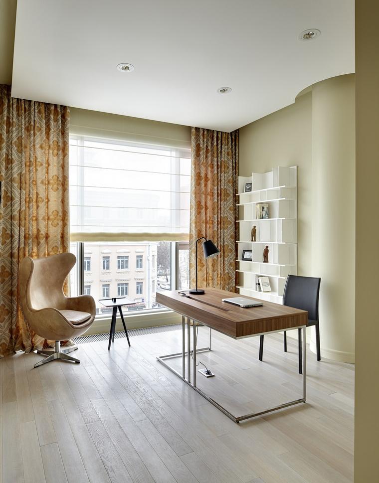Квартира. кабинет из проекта , фото №40998