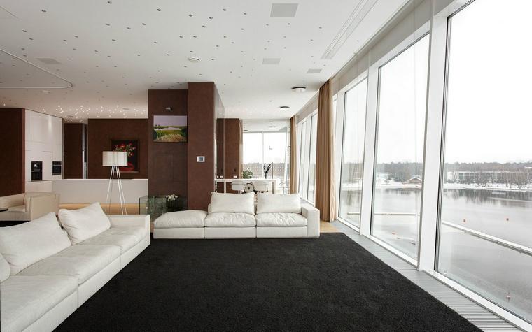 Фото № 41026 гостиная  Квартира