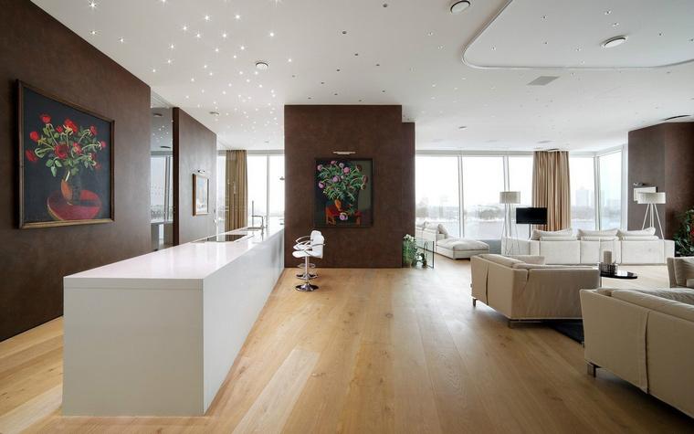 Фото № 41028 кухня  Квартира