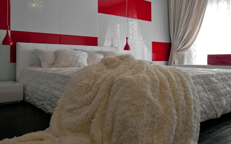 интерьер спальни - фото № 41220