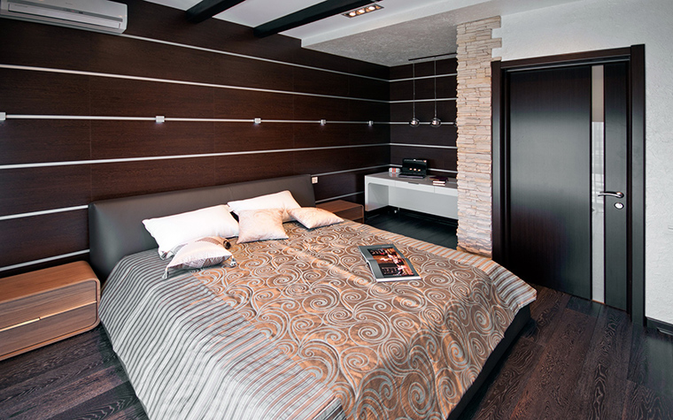 интерьер спальни - фото № 41224