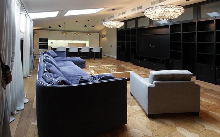 Квартира. гостиная из проекта , фото №41296