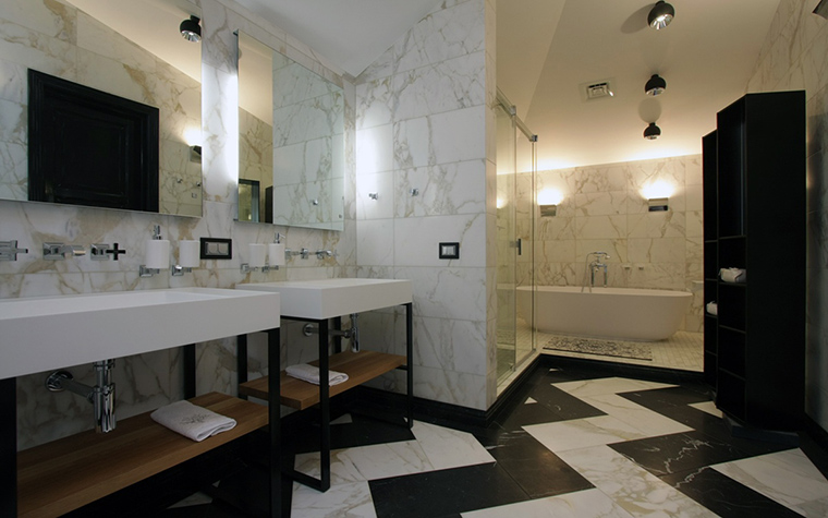 Квартира. ванная из проекта , фото №41298