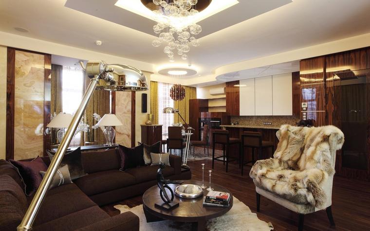 интерьер гостиной - фото № 41335