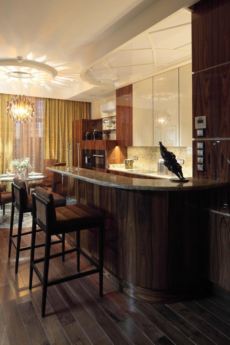 Фото № 41338 кухня  Квартира