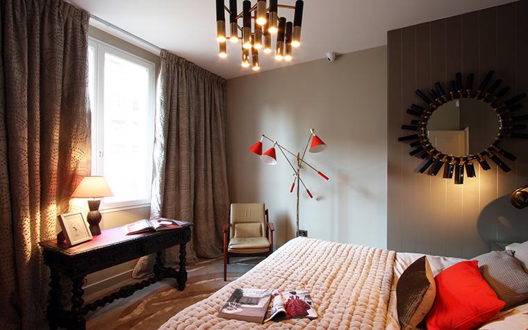интерьер спальни - фото № 41372