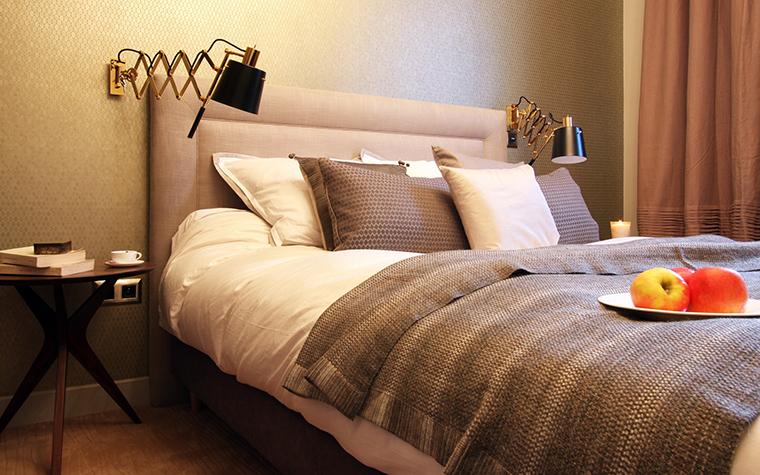 интерьер спальни - фото № 41369