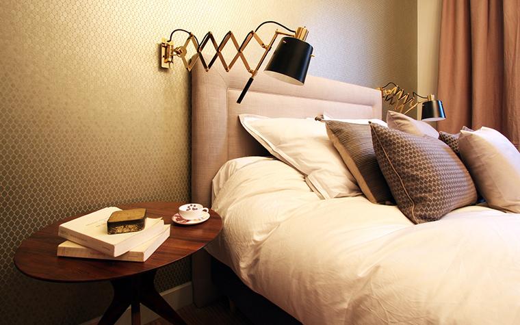 интерьер спальни - фото № 41370