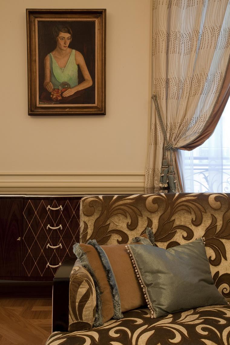Квартира. гостиная из проекта , фото №41485