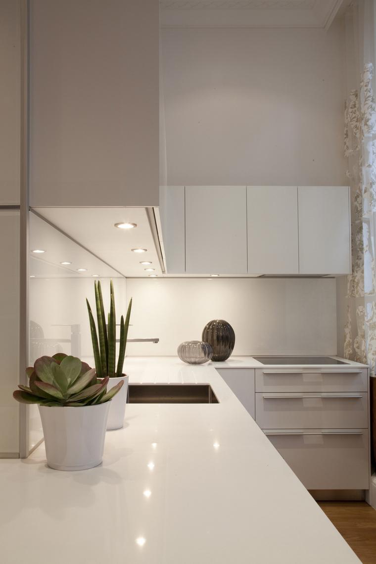 Фото № 41490 кухня  Квартира