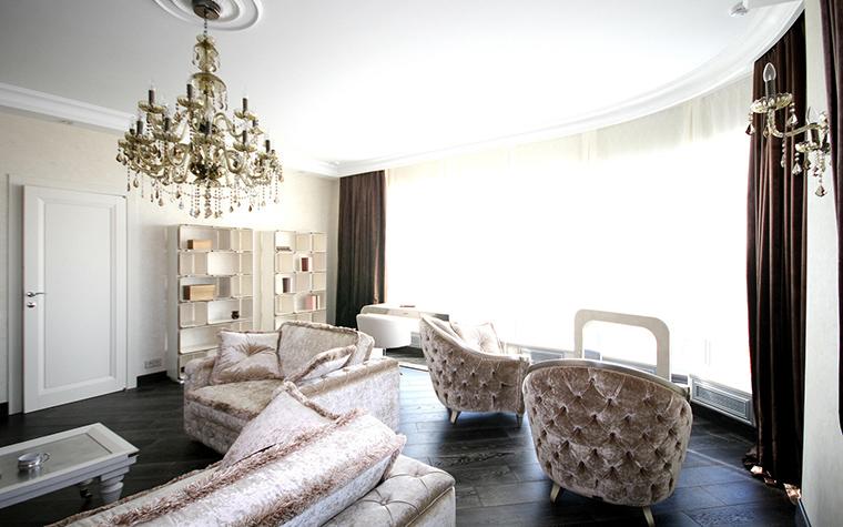 Фото № 41470 гостиная  Квартира