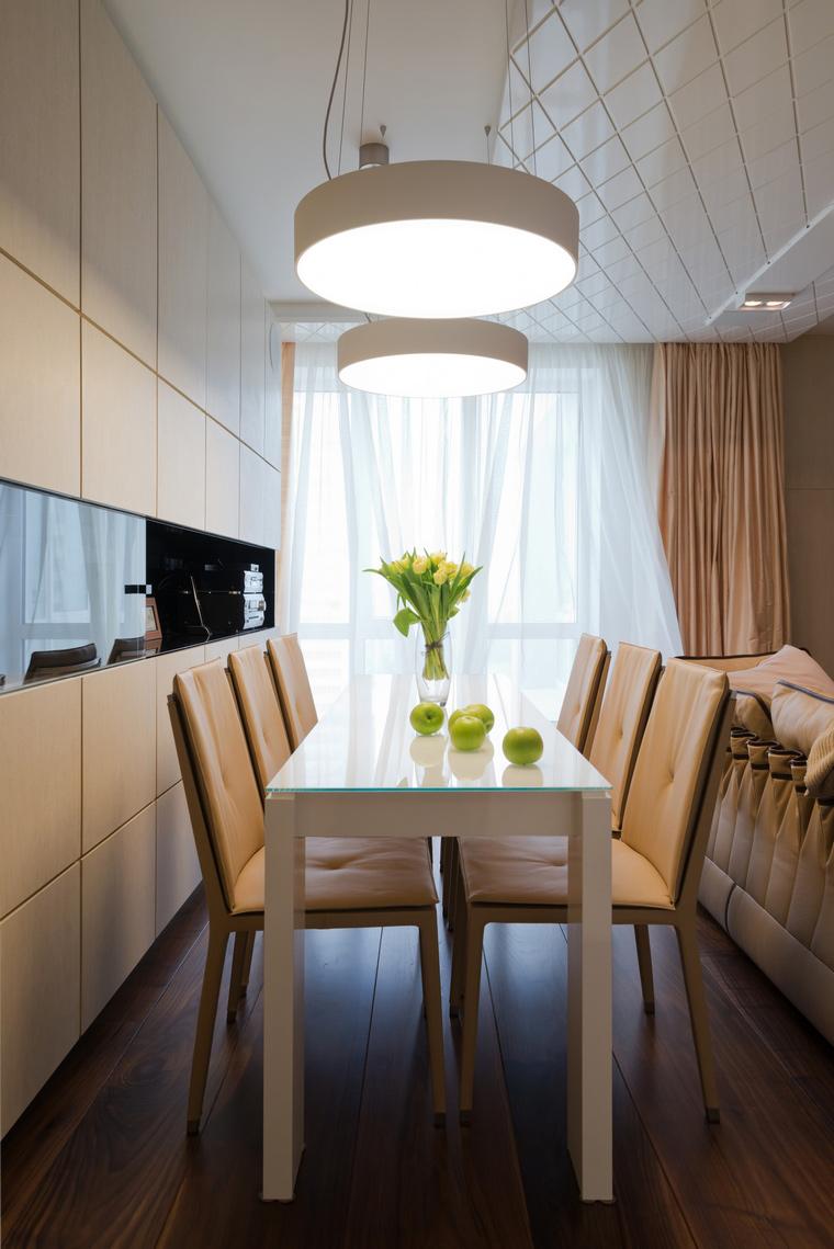 Квартира. столовая из проекта , фото №41607
