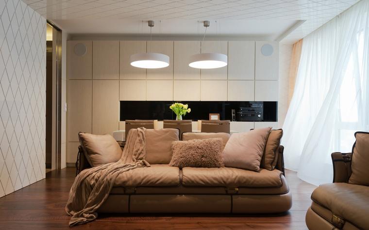 Квартира. гостиная из проекта , фото №41595
