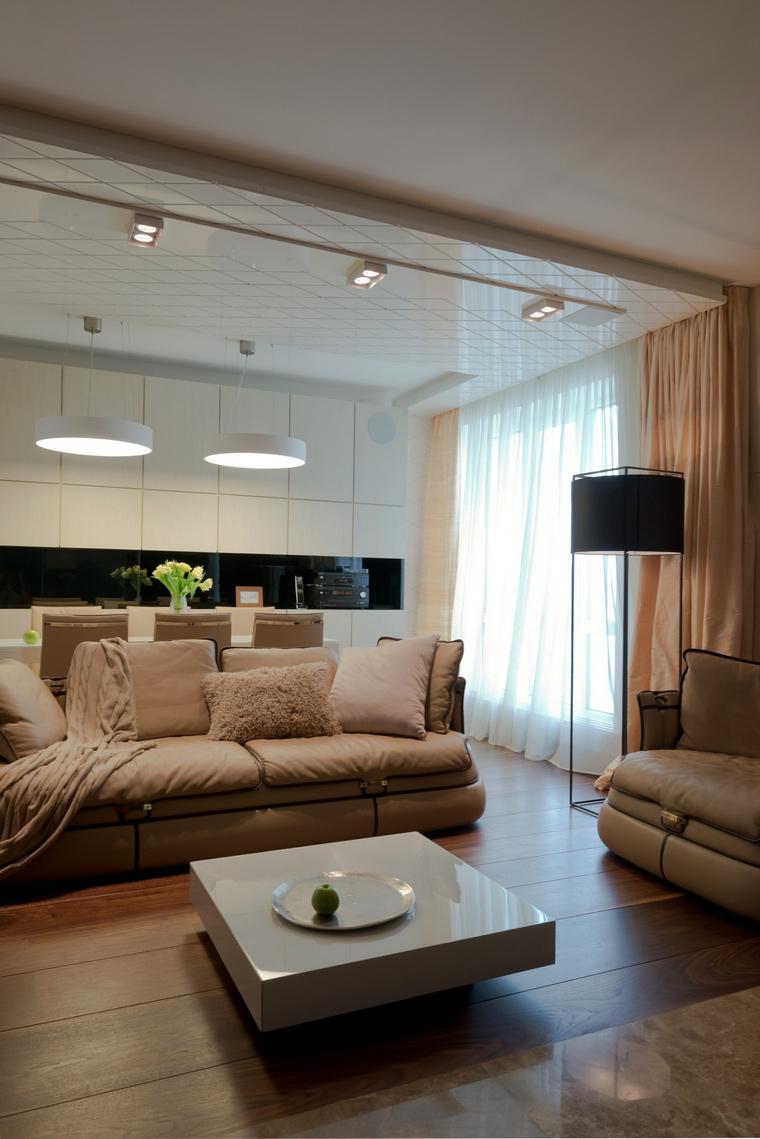 Квартира. гостиная из проекта , фото №41598