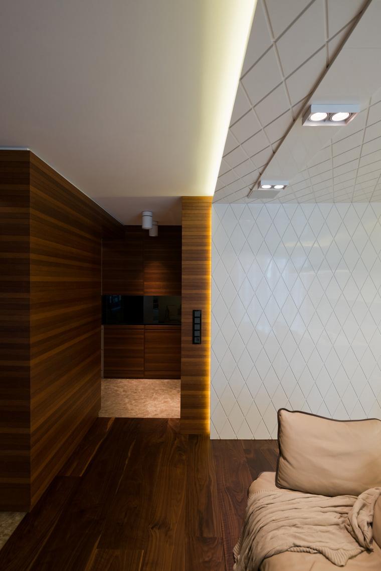 Квартира. гостиная из проекта , фото №41600