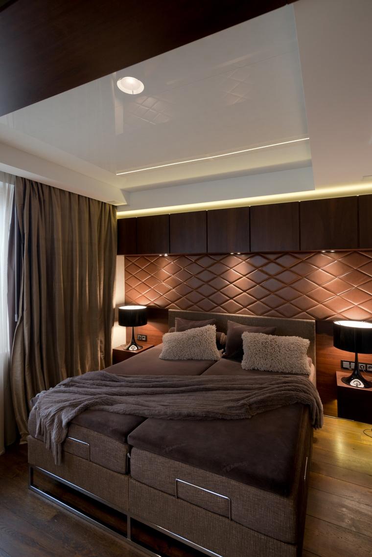 интерьер спальни - фото № 41615