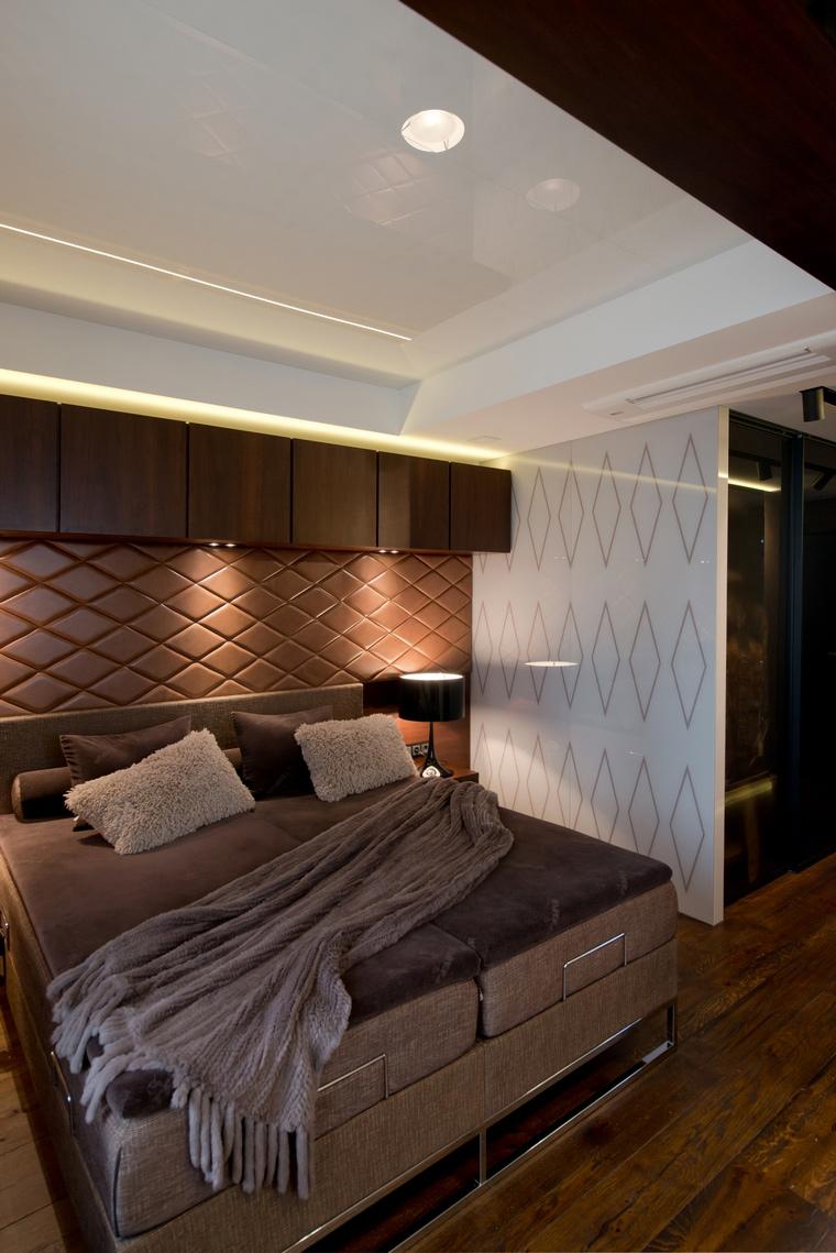 интерьер спальни - фото № 41616