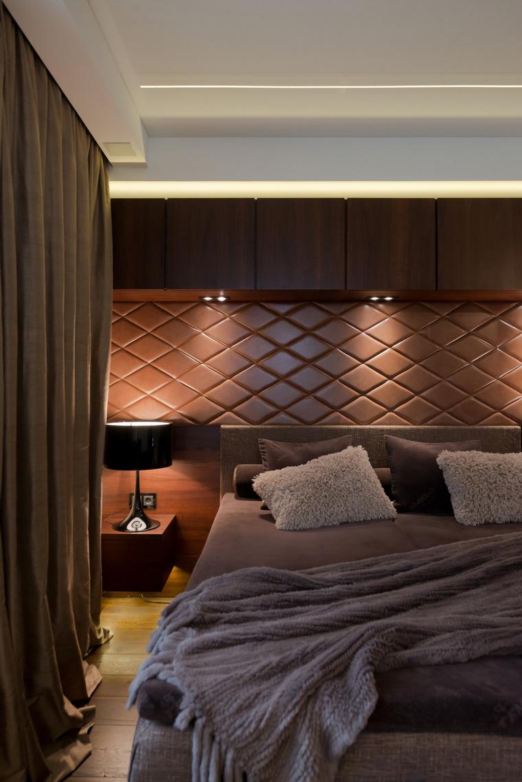 Квартира. спальня из проекта , фото №41617