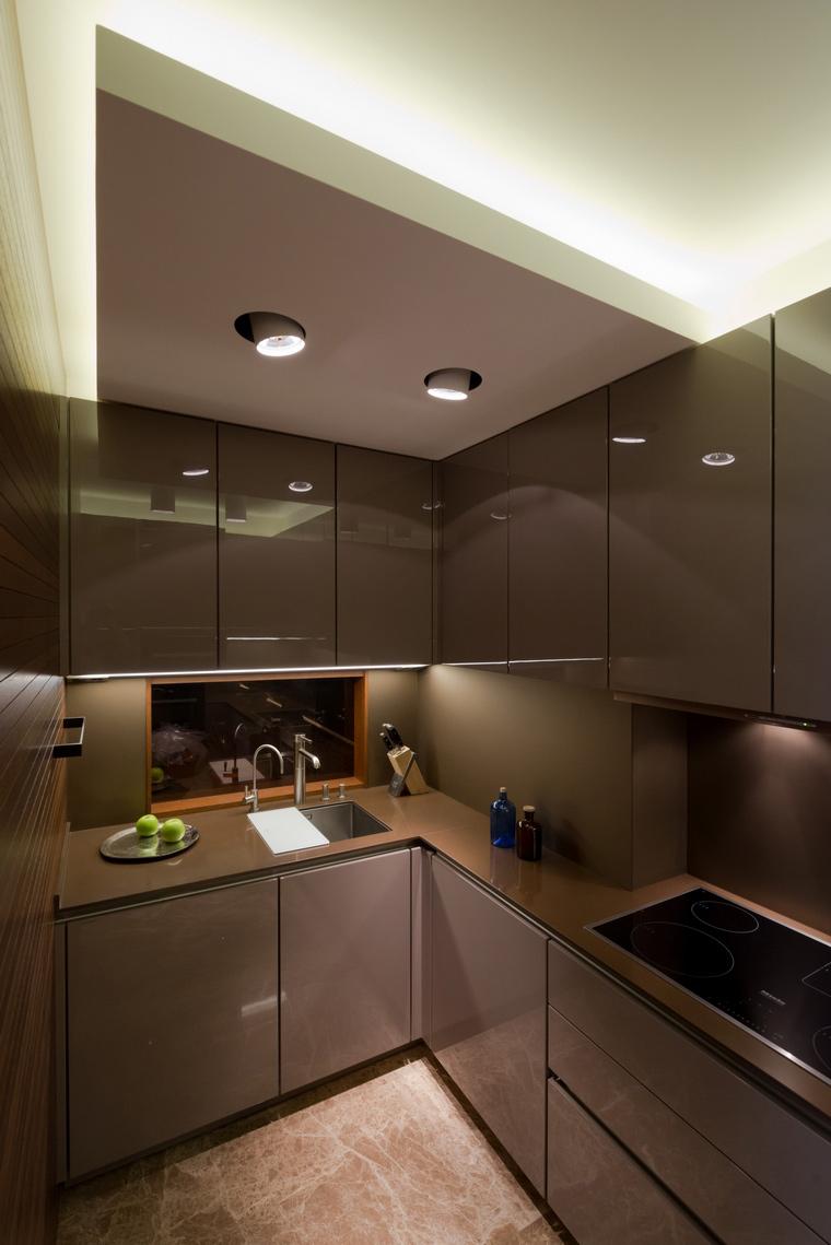 Квартира. кухня из проекта , фото №41610