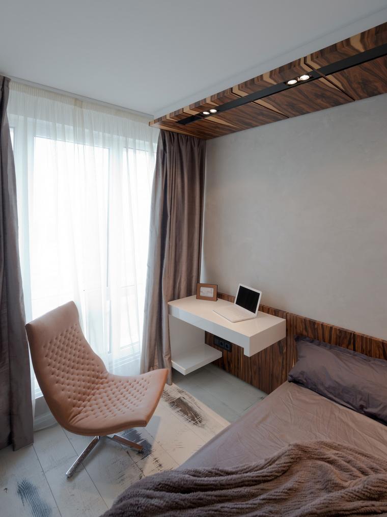 Квартира. спальня из проекта , фото №41619