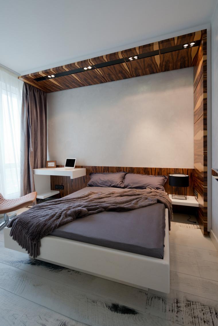Квартира. спальня из проекта , фото №41622