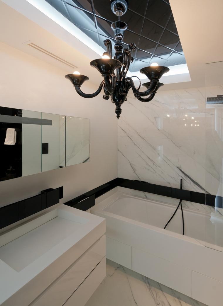 Квартира. ванная из проекта , фото №41626