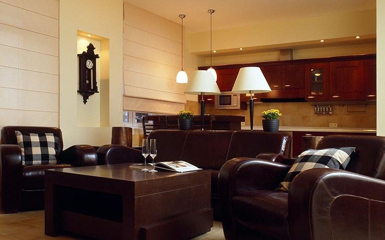 интерьер гостиной - фото № 41681