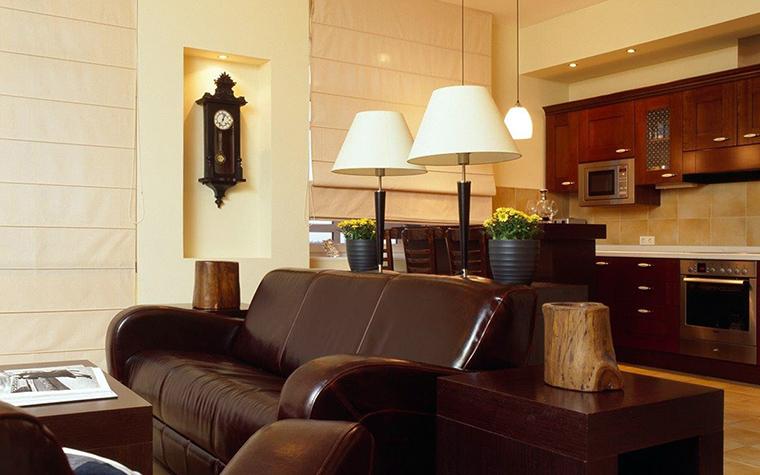 Фото № 41685 гостиная  Квартира