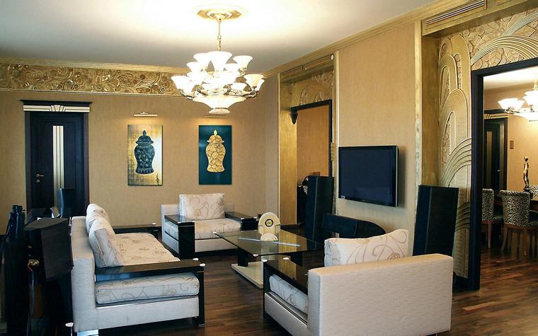 Фото № 41694 гостиная  Квартира