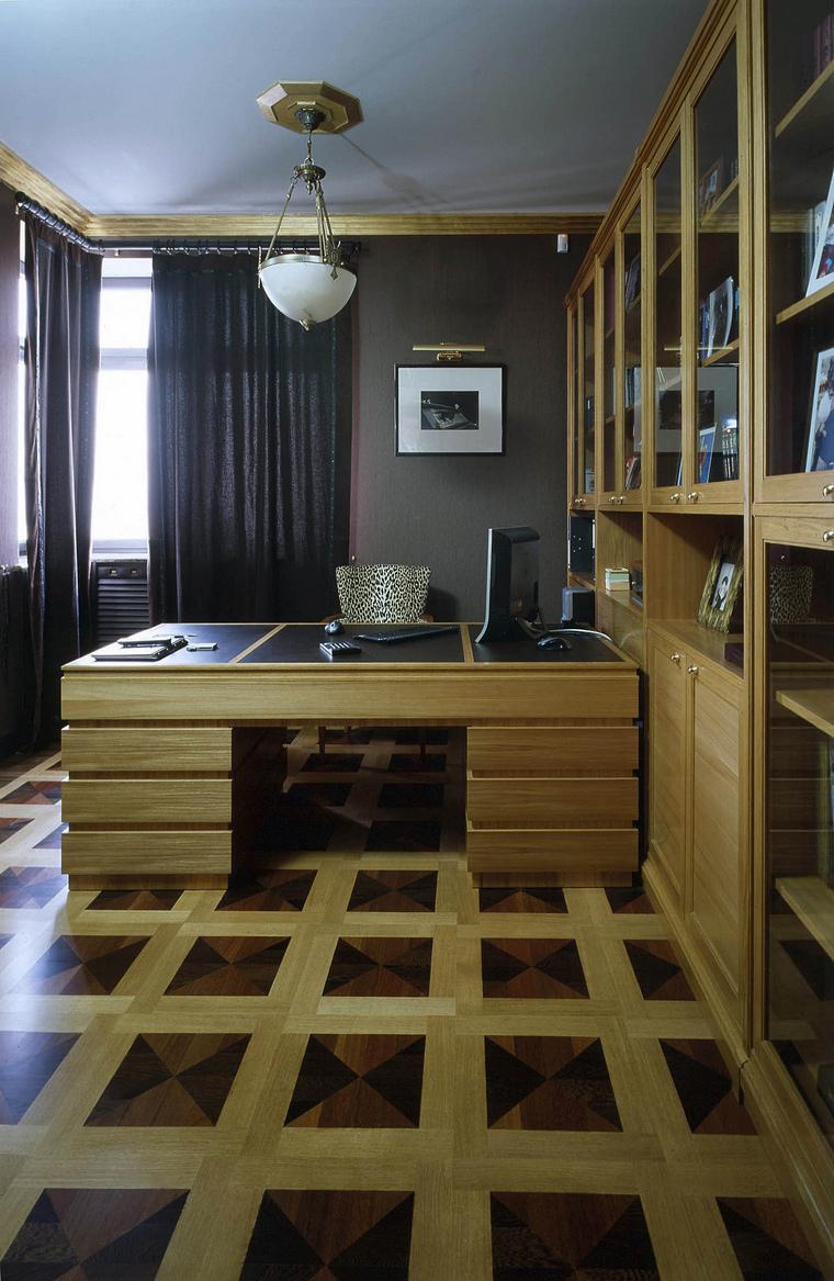 Фото № 41702 кабинет библиотека  Квартира