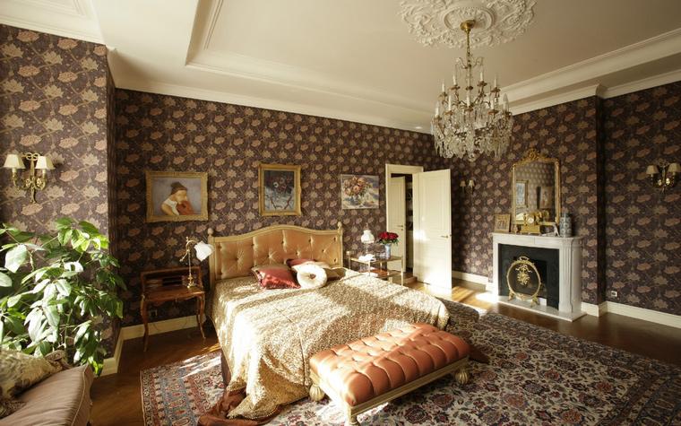 Квартира. спальня из проекта , фото №41786