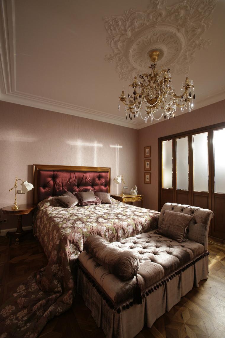Квартира. спальня из проекта , фото №41787