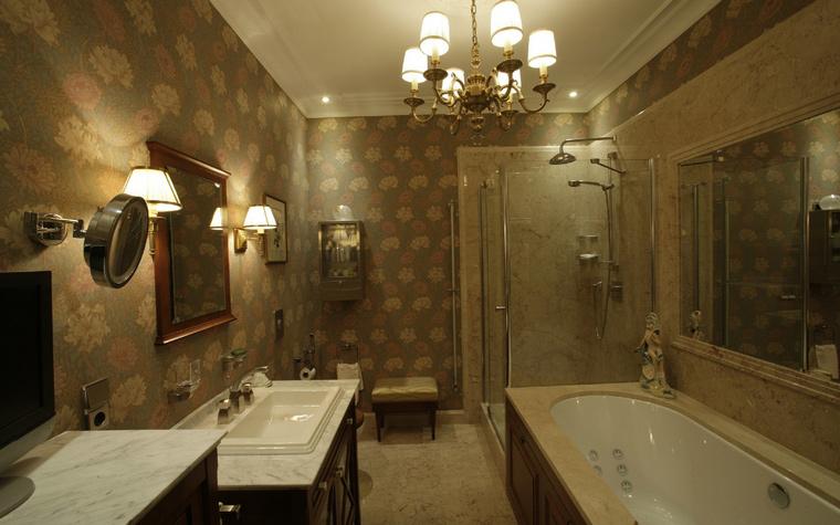 Квартира. ванная из проекта , фото №41788