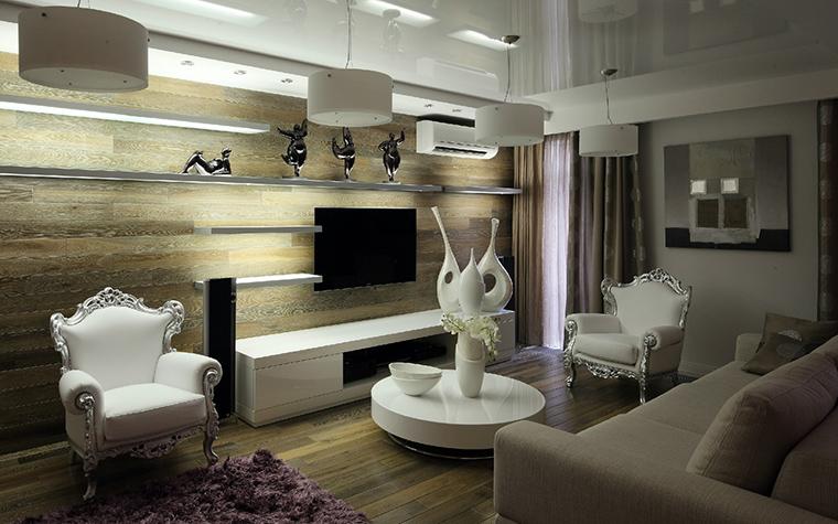 Квартира. гостиная из проекта , фото №41827