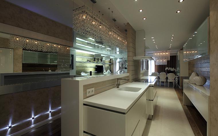 Квартира. кухня из проекта , фото №41836