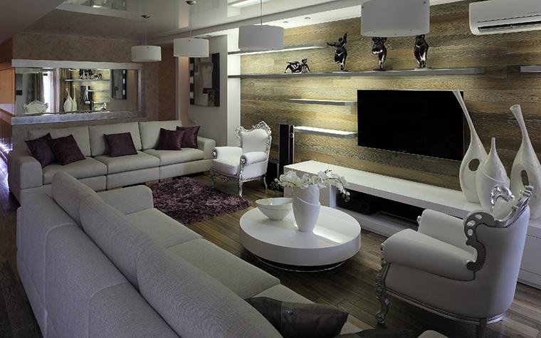 Квартира. гостиная из проекта , фото №41829