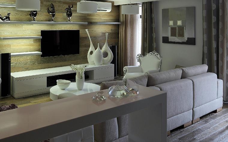 Квартира. гостиная из проекта , фото №41830