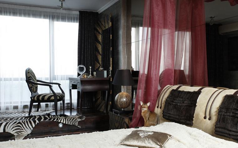интерьер спальни - фото № 42126