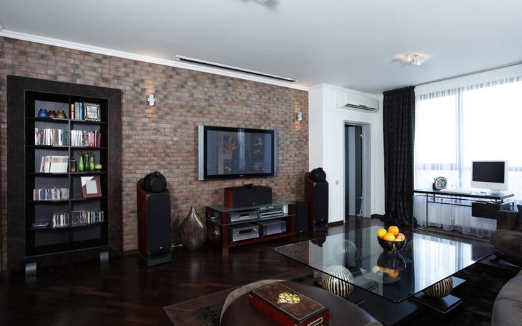Фото № 42122 гостиная  Квартира