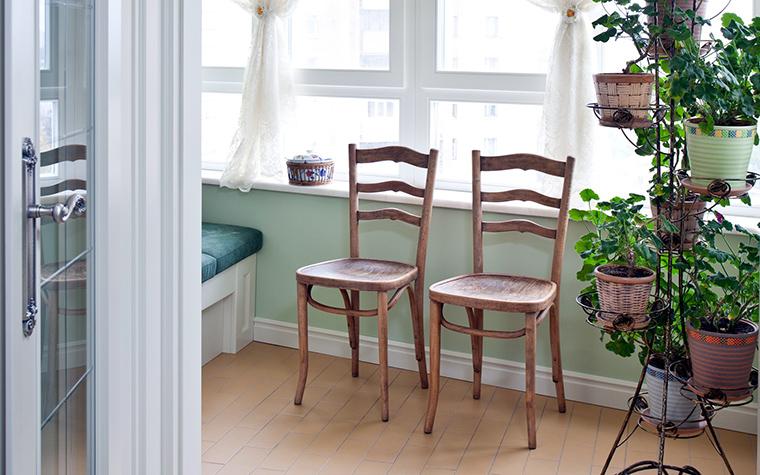 <p>Автор проекта: А-Дизайн</p> <p>Балкон как зимний сад - это вариант! Причем хороший, традиционный вариант.</p>