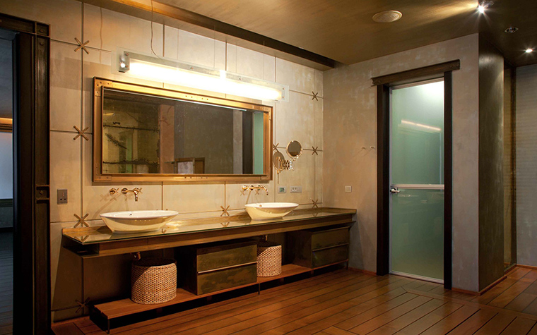 23 ванных комнаты с каменной отделкой