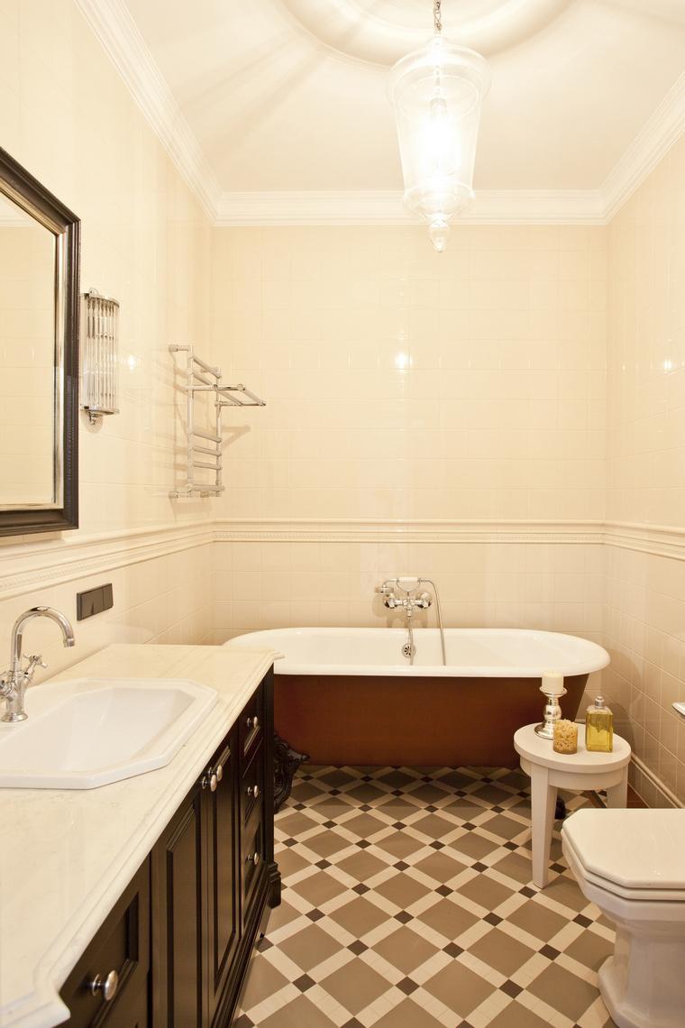 Квартира. ванная из проекта , фото №42323