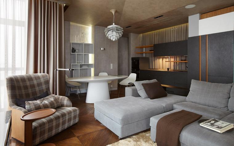 Фото № 42357 гостиная  Квартира