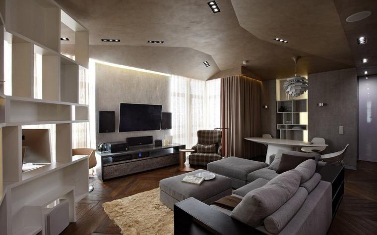 Фото № 42358 гостиная  Квартира