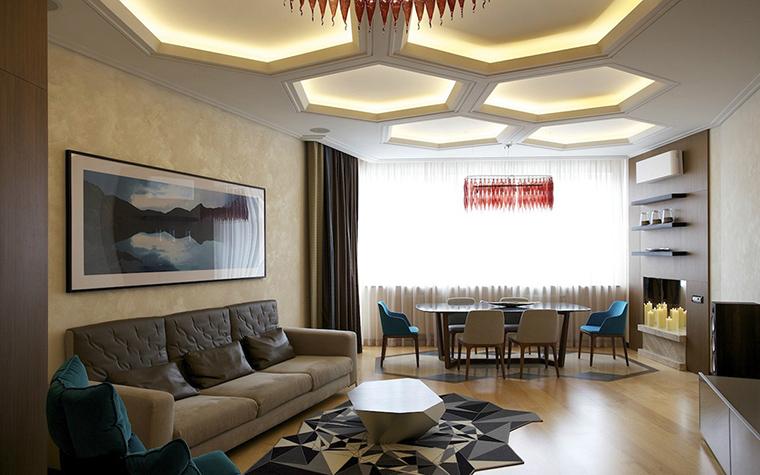 Фото № 42392 гостиная  Квартира