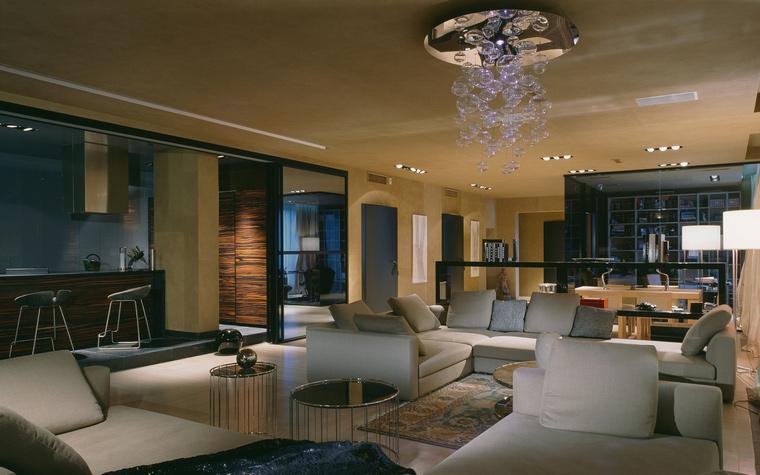 интерьер гостиной - фото № 42413